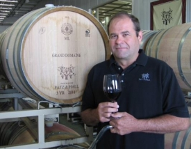 Winemaker James Hall