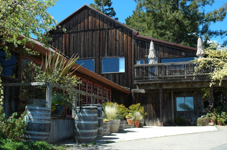 The Lower Ridge Winery at Monte Bello