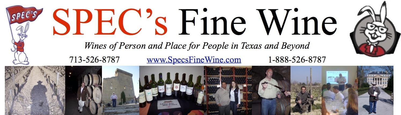 SPEC's FINE WINE