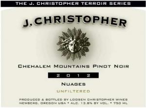 J. Christopher Pinot Noir Nuages 2012