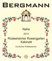 Bergmann Rudesheimer Rosengarten KAB label